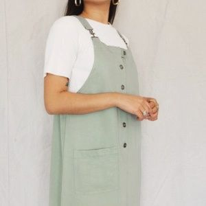 ➪ Vintage Express overall dress